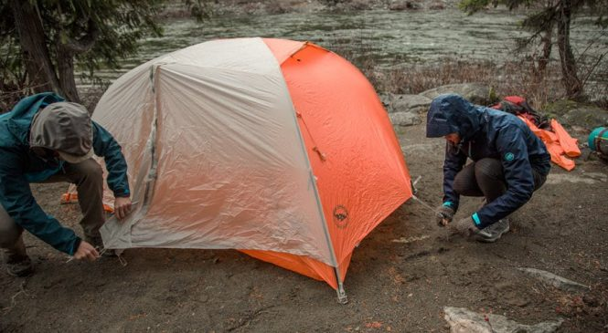Traits of a Rainy Day Tent
